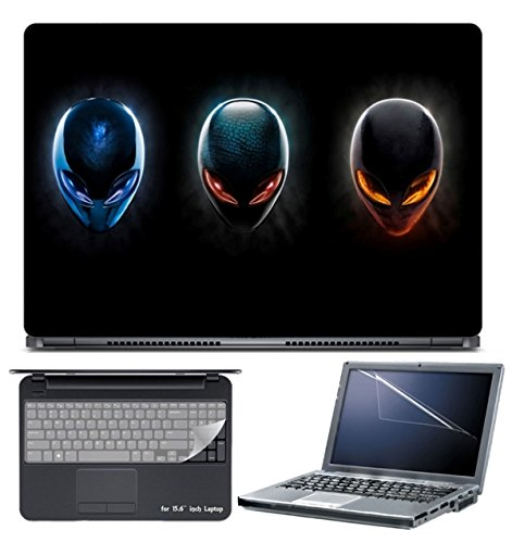 Skin Yard Alien Ware Cover Laptop Skin/Decal with Screen Protector...
