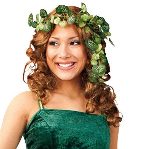 Karneval Kostüm Damen Waldfee - KarnevalsTeufel Efeu-Ranke, Kopfschmuck für Waldfeenkostüm ,