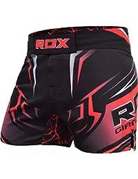 RDX MMA Short Entraînement Grappling Combat Kick Boxe Arts Martiaux Free Fight UFC Cage