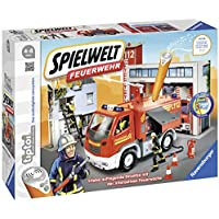 Ravensburger tiptoi Spielewelt Feuerwehr - 00824 / Erlebe spielerisch den Alltag der Feuerwehr