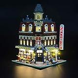 LIGHTAILING Set di Luci per (Cafe Corner) Modello da Costruire - Kit Luce LED Compatibile con Lego 10182(Non Incluso nel Modello)