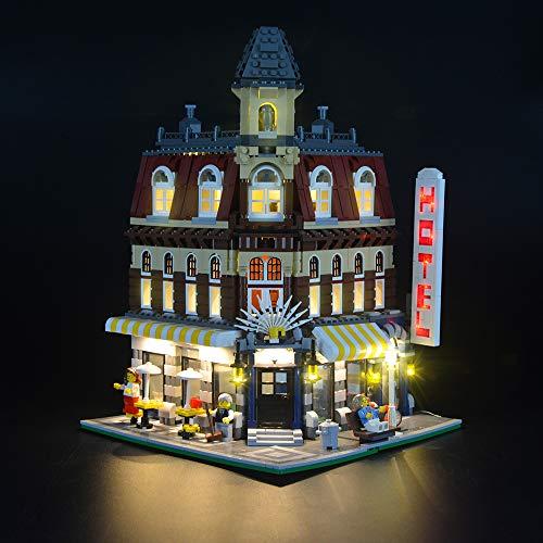 LIGHTAILING Licht-Set Für (Cafe´ Corner) Modell - LED Licht-Set Kompatibel Mit Lego - Lego Cafe Corner