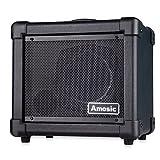 Amosic Gitarrenverstärker 10W für E-Gitarren-Anfänger