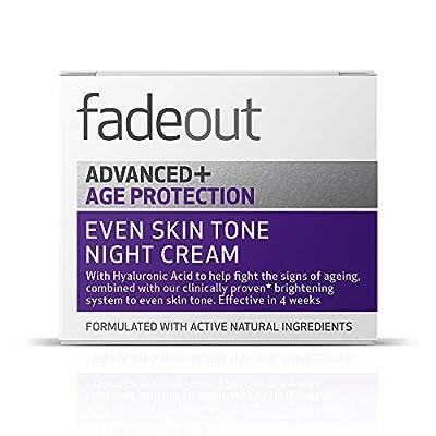 Fade Out Advanced+ Age Protection Even Skin Tone Night Cream, 50 ml