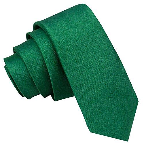 Corbata Verde estrecha