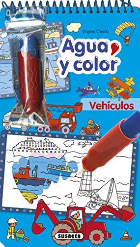 Vehículos (Agua y color) por Susaeta Ediciones S A