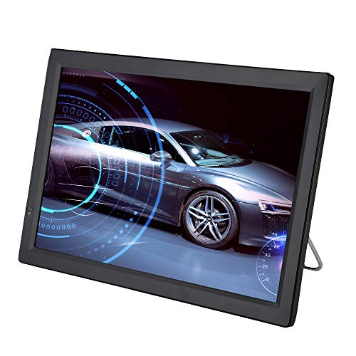 Televisión LCD portátil de 14 Pulgadas, TV analógica con TV DVB-T-T2 1080P HD con baterías Recargables de...