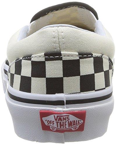 Vans Kids Classic Slip on, schwarz Mehrfarbig ((Checkerboard) EO1)