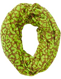 Tom Tailor Casual Neon Leo Tube - Foulard - Imprimé animal - Femme