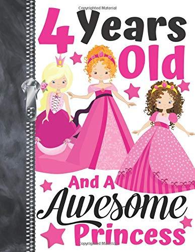 esome Princess: Best Friends Doodling & Drawing Art Book Sketchbook For Girls ()