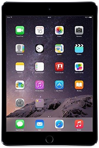 Apple iPad Mini 3 128GB Wi-Fi - Space Grey (Refurbished)