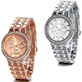 JewelryWe Damen Armbanduhr