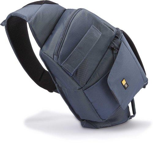 Case Logic SLRC225 SLR Slingbag S Kamerarucksack mit einstellbarem Schultergurt (für Spiegelreflex) blau Case Logic Slr Sling