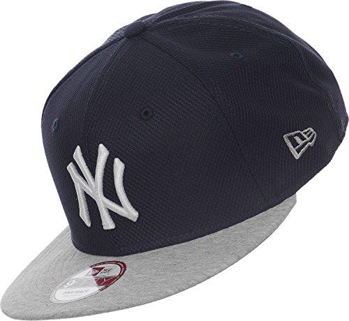 New Era Herren Caps Snapback Cap Jersey Diamond NY Yankees Blau S M 9bf80a04f