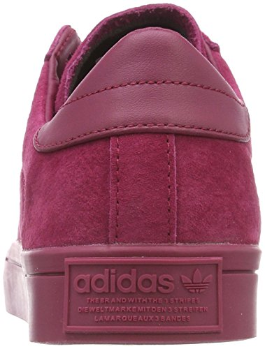 adidas Herren Courtvantage Gymnastikschuhe Rot (Mystery Ruby F17/mystery Ruby F17/mystery Ruby F17)