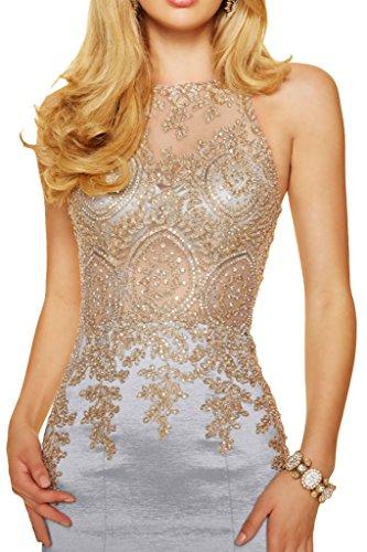 Prom Style Damen Vintage Spitze Etui Mermaid Abendkleider ...