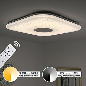 Kusun led ceiling lights remote control 2800k 6500k dimmable rgb kusun led ceiling lights remote control 2800k 6500k dimmable rgb dimmable aloadofball Images