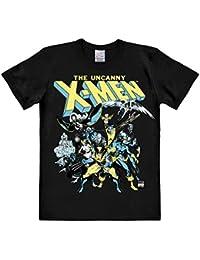 T-shirt X-Men - Le groupe de super-héros - T-shirt Marvel Comics - T-shirt à col rond de LOGOSHIRT - noir - Design original sous licence