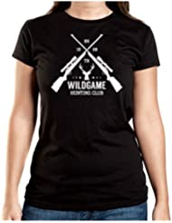 Hunting Club T-Shirt Girls Negro Certified Freak