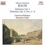 Bach, J.C.: Sinfonias, Vol. 1