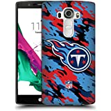 Official NFL Camou Tennessee Titans Logo Hard Back Case for LG G4 / H815 / H810