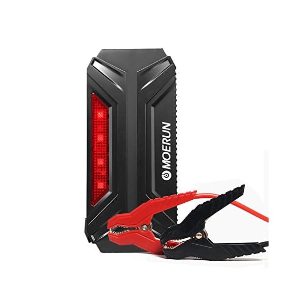 Car Jump Starter de 18000mAh, 800A Batería Arrancador de Coche con el puerto de carga de USB de 5V, 12V/16V/19V para cargar el ordenador portátil, la pantalla de LCD, la luz de flash de LED (800A 18000mAh 1)