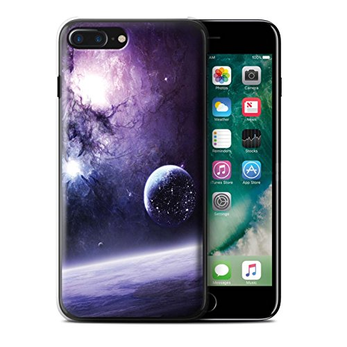 Offiziell Chris Cold Hülle / Case für Apple iPhone 7 Plus / Zerbrochenen Mond Muster / Fremden Welt Kosmos Kollektion Planet/Mond