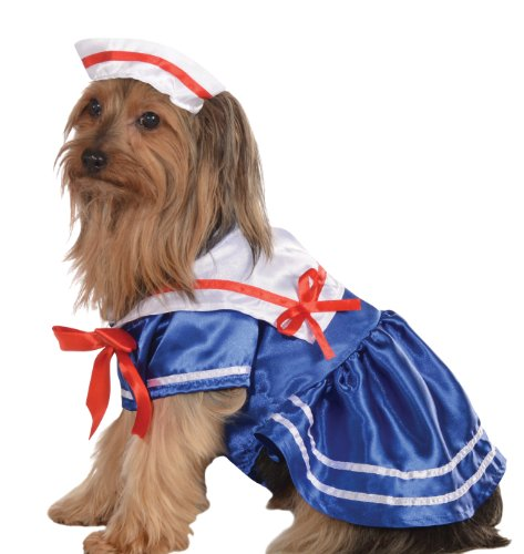 Haustier Girl Kostüm Sailor - Rubie 's Pet Costume, Sailor Girl