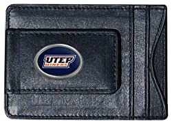 NCAA Texas El Paso Miners Leather Cash and Card Holder