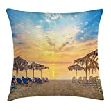 Natural eco-friendly materials,this is your most suitable choice. this pillow cover suitable for both indoors (living room, bedroom, etc.) or outdoors (patio,car etc.) matches with any color bed, sofa, or chair,add a nice artistic feel. Staining patt...