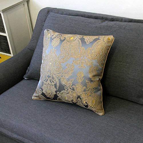 hnkomfort rückenlehne MIT Sofa Bett MIT Kissen Büro weichen 45 * 45/Grau ()