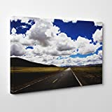 BIG Box Art Arty Pie Landscape Road and Clouds 2