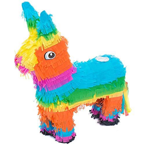 Goods & Gadgets Pinata Party-Dekoration zum Befüllen mit Süßigkeiten für Kinder-Geburtstag Hochzeit Feier - Esel