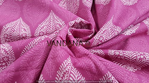 handicraftpinkcity-pink-color-hand-block-print-fabric-indian-decorative-running-fabric-5-yard-handma