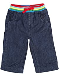 Toby Tiger Baby Boys Rainbow Denim Jeans Easy Fit