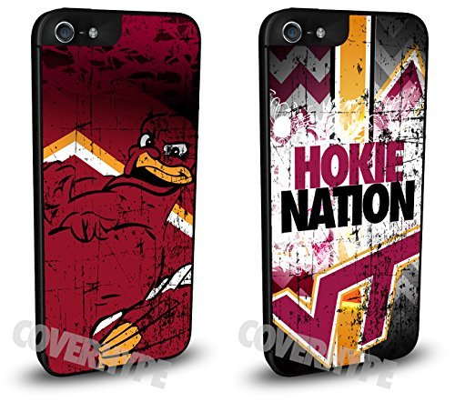 virginia-tech-hokies-cell-phone-hard-plastic-case-two-pack-for-iphone-5c