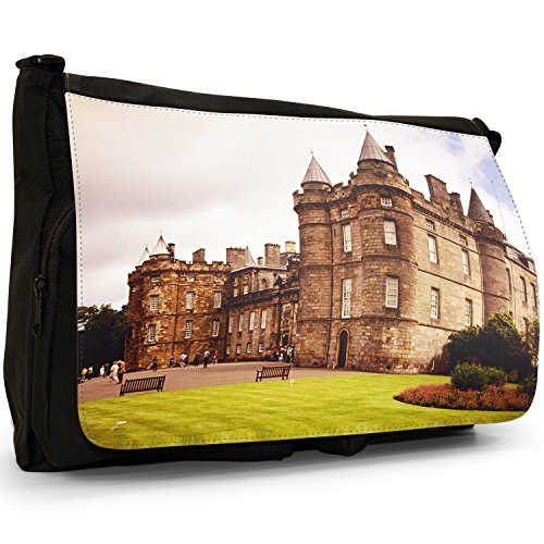 Fancy A Bag Borsa Messenger nero Cow Palace of Holyroodhouse In Edinburgh, Scotland