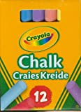 Enlarge toy image: Crayola - Anti Dust Assorted Chalk -  preschool activity for young kids