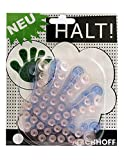 Kirchhoff 17518 Saugnapf Pad Hand multicolor Duschgelhalter Saugnapfhalter