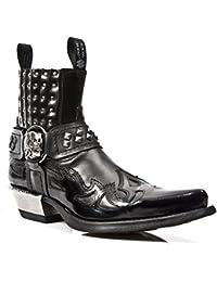 Amazon Da Real Leather The it Stivali Shop Uomo Scarpe rqFTrw