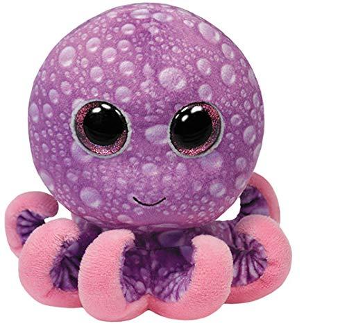 """Beanie Boo Octopus - Legs - Purple - 15cm 6"""""""