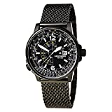 Citizen Nighthawk Black Dial SS da uomo al quarzo BJ7009 – 58E