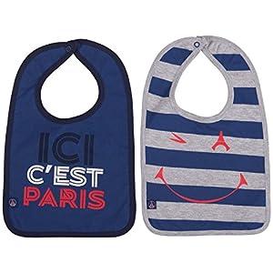 PARIS SAINT-GERMAIN 2 x Bavoir PSG - Collection Officielle Taille bébé garçon 5