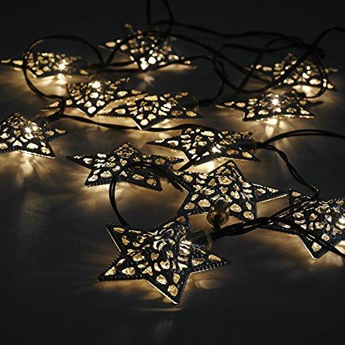 12lanterne a energia solare, Star LED luci da giardino, per festa di matrimonio decorazioni da giardino, bella luce notturna lampada solare alimentata Eco