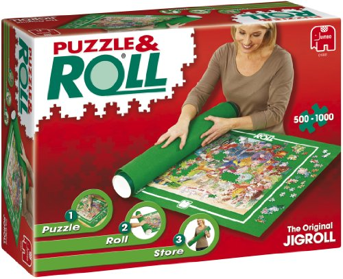 Puzzle and Roll,tappetino arrotolabile per puzzle