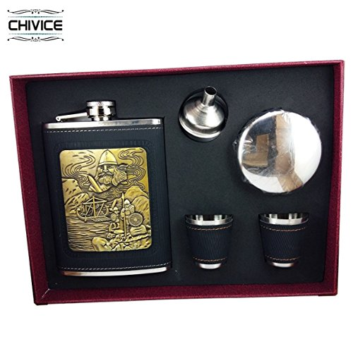 5 in 1 Hip Flask Gift Set  available at amazon for Rs.550