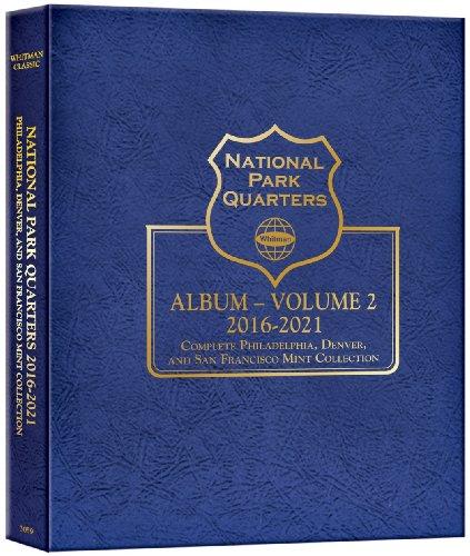 National Park Quarters Album, Volume 2: 2016-2021: Complete Philadelphia, Denver, and San Francisco Mint Collection