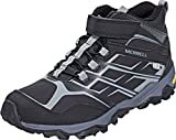 Merrell Boys' Moab FST Mid a/C Arctic W High Rise Hiking Boots