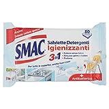 Smac - Salviette Detergenti Igienizzanti, 2 confezioni da 80 pezzi