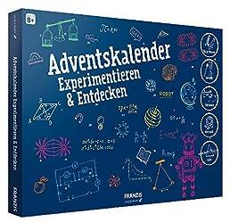 FRANZIS young Explorer Adventskalender Experimentieren & Entdecken 2018   24 Physik-Experimente für die Adventszeit   Ab 8 Jahren